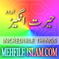 Hairat Angez Incredible things Urdu